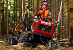 8x8木材集运机