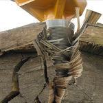 液压旋转劈木机 / 安装在挖掘机上
