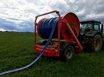 有机肥水管卷盘 / 液压驱动 / 牵引式