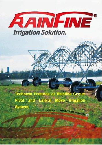 Technical features of Rainfine