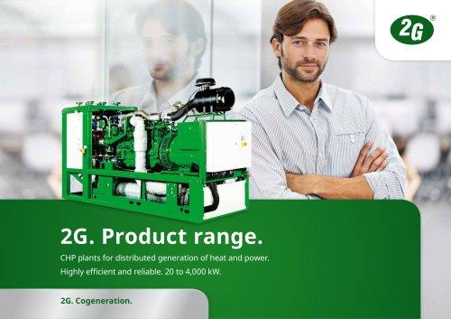 2g product range