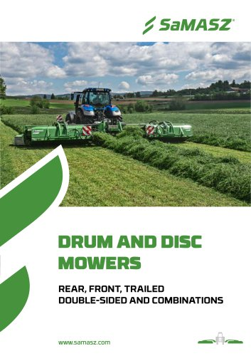 DRUM AND DISC MOWERS