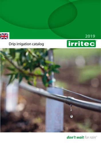 Drip irrigation catalog 2019