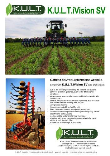K.U.L.T.iVision SV - Camera steered weeding