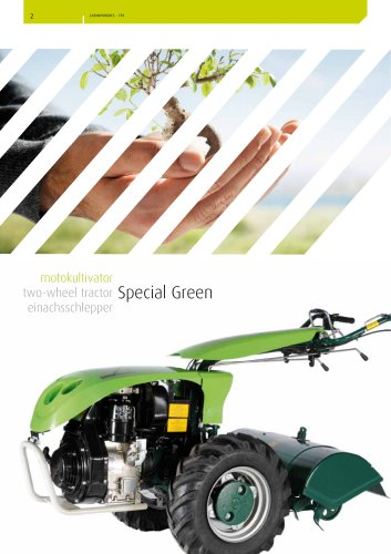 two-wheel tractor Special Green