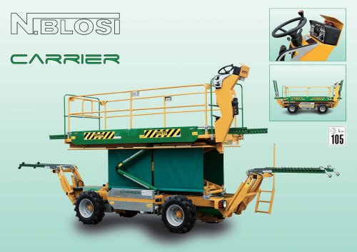 Carrier Moving machines