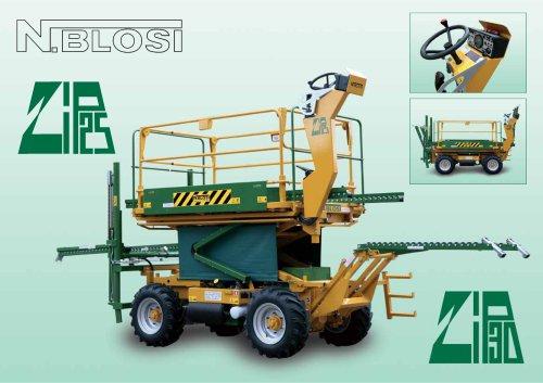Zip 25 Moving machines