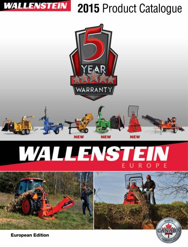 Wallenstein europe product catalogue 2015