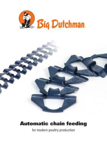 Automatic chain feeding