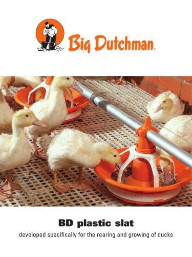BD plastic slat