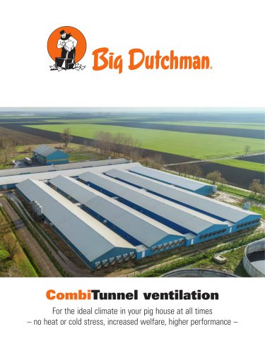 CombiTunnel ventilation