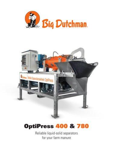 OptiPress 400 & 780