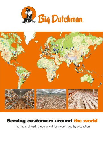 Serving customers around the world