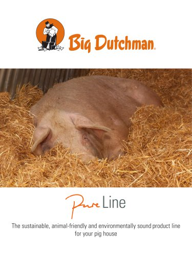 The sustainable, animal-friendly and environmentally sound product line for your pig house