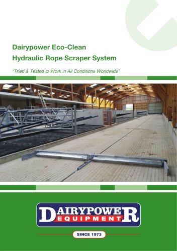 Dairypower Eco-Clean - Hydraulic Rope Scraper System