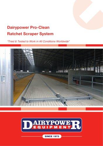 Dairypower Pro-Clean - Ratchet Scraper System