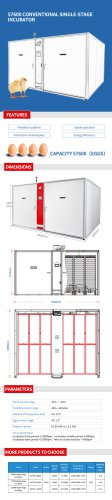 57600 CONVENTIONAL SINGLE-STAGE INCUBATOR