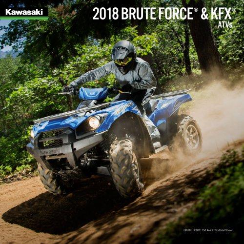 2018 BRUTE FORCE® & KFX® ATVs