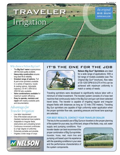 Traveler Irrigation