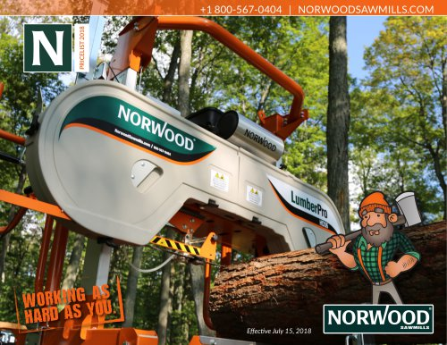 Norwood Sawmills Price List