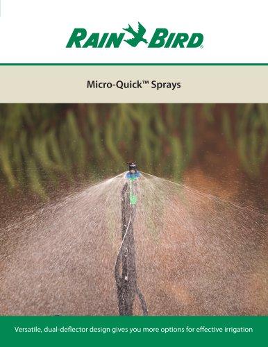 Micro-Quick™ Sprays