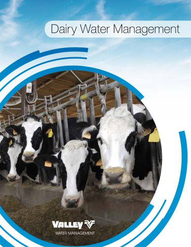 DAIRY WATER MANAGEMENT