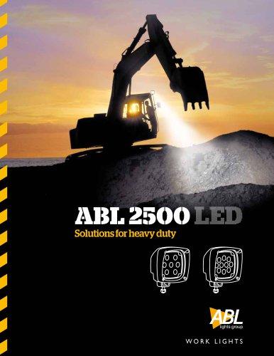 ABL 2500 LED range