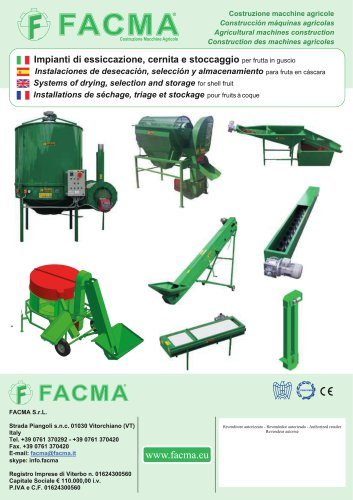 System of drying ,selection and storage