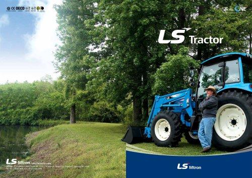 LS tractor catalog
