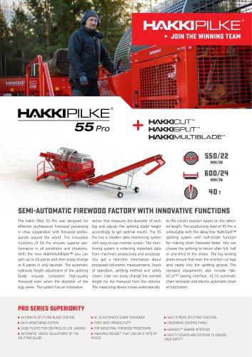 Hakki Pilke Pro 55