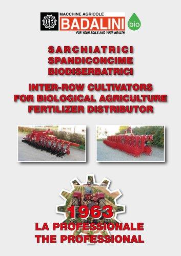 Sarchiatrici e Biodiserbatrici - Inter-row cultivator