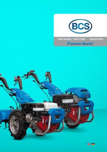 Brochure Two-wheel tractors PowerSafe