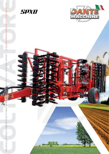 Cultivator  SPXD