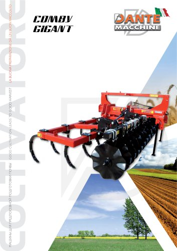 CULTIVATORS  COMBY GIGANT SP serie