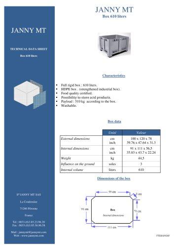 Box 610 liters
