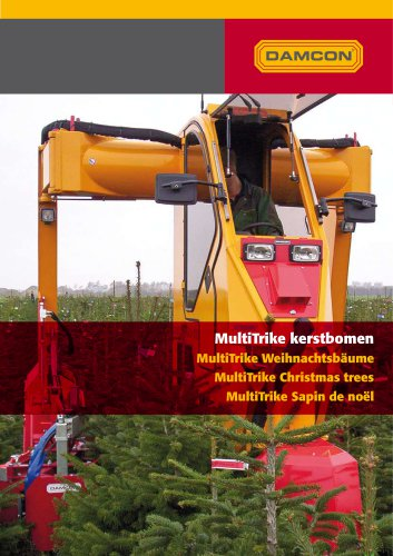 High clearance tractors Christmas trees