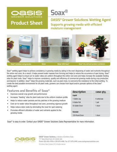 SOAX® WETTING AGENT