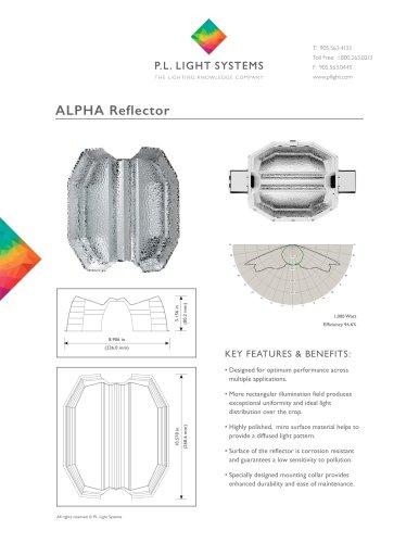 ALPHA Reflector