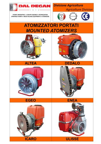 Catalogue for Mounted Atomizer