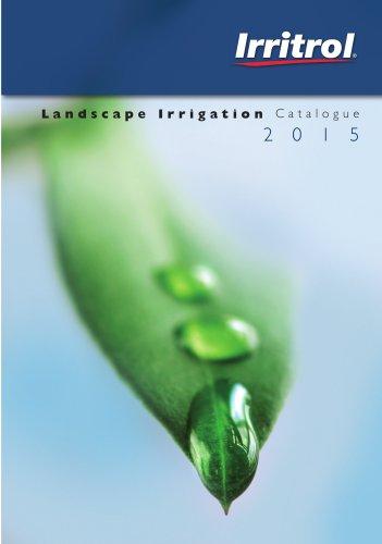 Landscape Irrigation Catalogue 2015