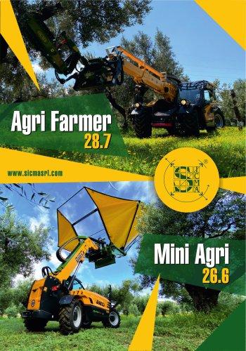 Sicma - Miniagri & Agrifarmer Dieci telehandlers