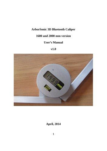 ArborSonic 3D Bluetooth Caliper