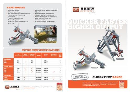 ABBEY SLURRY PUMP