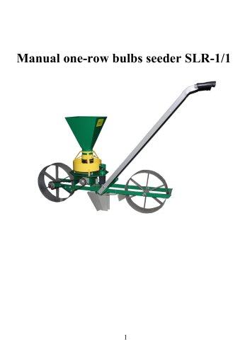 Hand onion planter SLR-1/1