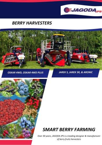 currants, Haskap, aronia harvester JAREK-5