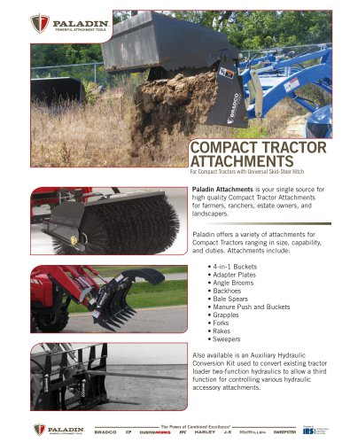 BR - PA - compact tractor attachments