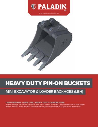 HEAVY DUTY PIN-ON BUCKET