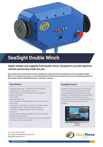 SeaSight Double Winch