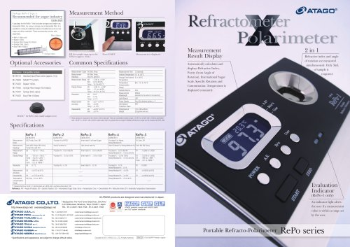 RefractometerPolarimeter