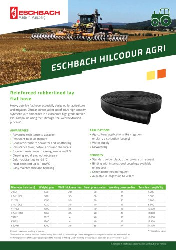 HILCODUR AGRI Supply Line